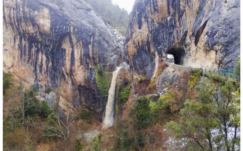 Cascada de Tartalés de los Montes