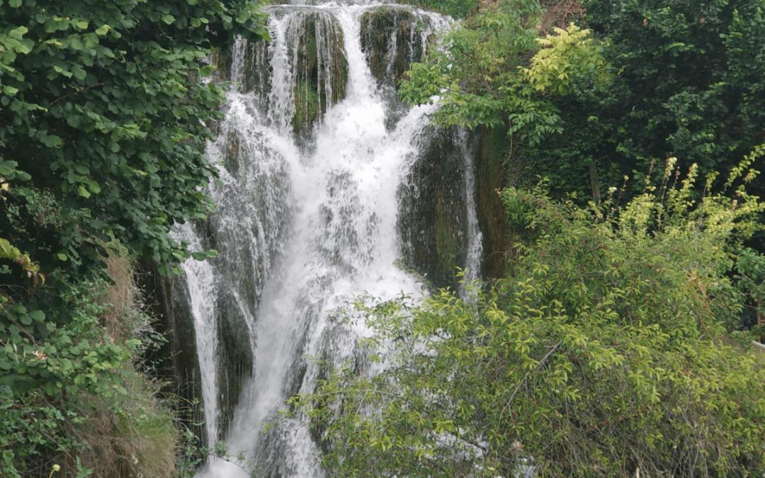 Las cascadas en Las Merindades